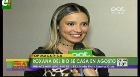 """Roxana Del Río y """"Mamén"""" Saavedra se casan en agosto"""