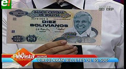 """Banco Riendo presenta los """"nuevos cortes de billetes"""""""