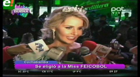 Rafaela Silva es Miss Feicobol 2016