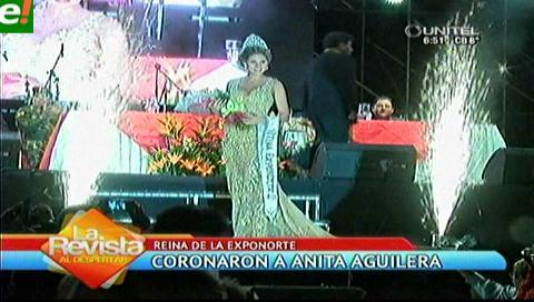 Anita Aguilera coronada Reina de Exponorte 2016