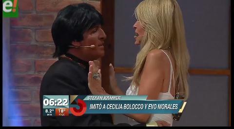 """""""Ego Morales"""" intenta conquistar el amor de Cecilia Bolocco"""