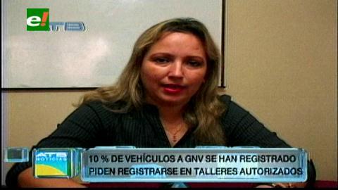Poco interés en el registro de los cilindros de GNV