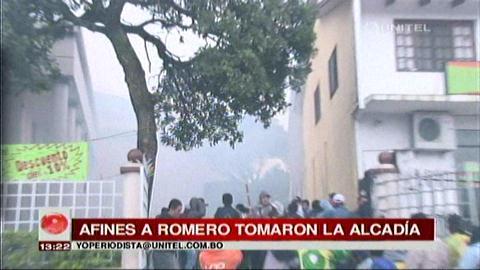Romero retoma la Alcaldía y vuelve la tensión en La Guardia