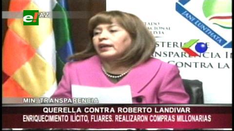 Caso Bidesa: Presentan denuncia formal contra  Roberto Landívar por enriquecimiento ilícito
