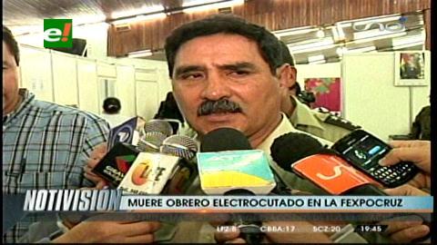 Obrero muere electrocutado en el predio de la Fexpocruz