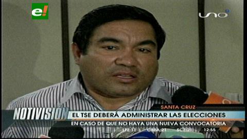 El MAS dice que el TSE debería administrar las elecciones en Santa Cruz