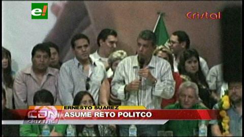 """Ernesto Suárez: """"Asumiré el reto político por el bien del país"""""""