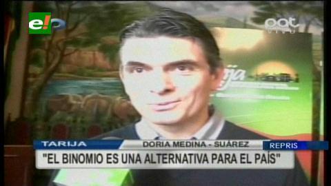 """Rodrigo Paz: """"Binomio Samuel-Ernesto tiene que tener una visión de futuro nacional"""""""