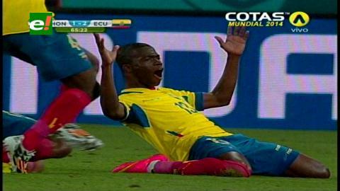 Ecuador venció 2-1 a Honduras y roza una clasificación a octavos