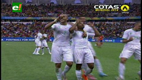 Argelia gana 4-2 a Corea del Sur y sigue soñando con los octavos