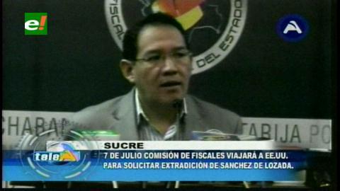 En julio se volverá a pedir a los EEUU la extradición de Sánchez de Lozada