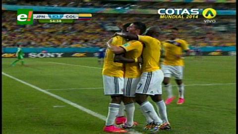 Colombia derrotó 4-1 a Japón en el cierre del Grupo C