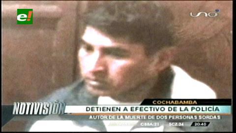 Cabo de Policía confiesa asesinato de dos sordomudos en Cochabamba