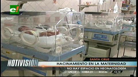 Bebés en peligro por hacinamiento en la maternidad Percy Boland