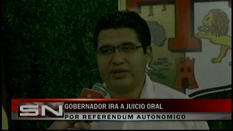 Rubén Costas se presentará en el juicio oral por los Estatutos Autonómicos