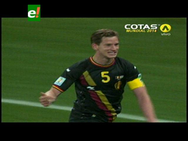 Bélgica derrotó 1-0 a Corea del Sur y sumó puntaje perfecto en Brasil 2014