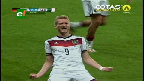 Alemania gana 2-1 a Argelia y avanza a cuartos del Mundial 2014