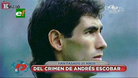 El día que la muerte venció al fútbol en Colombia: A 20 años del asesinato de Andrés Escobar