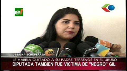 """Diputada Echeverría asegura que fue víctima de """"Negro"""" Gil"""