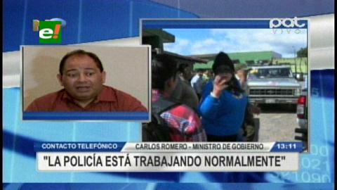 """Ministro Romero se enoja y corta la comunicación ante preguntas """"incómodas"""" de presentadora de PAT"""