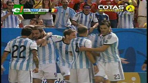 Argentina venció a Bélgica y vuelve a una semifinal de Mundial tras 24 años
