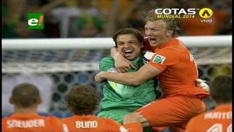 Holanda va a semifinales tras vencer a una heroica Costa Rica en penales