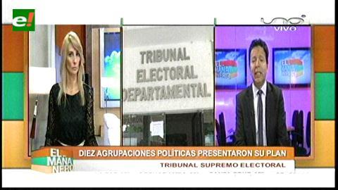 Diez agrupaciones políticas presentaron sus planes de Gobierno