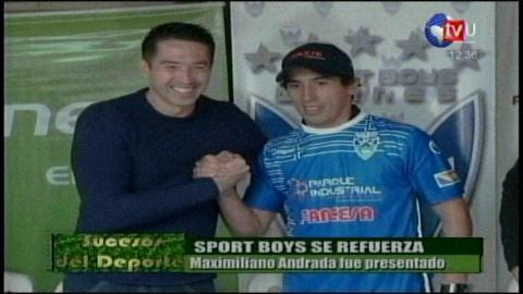 Sport Boys ya firmó con Andrada, va por Hoyos y espera aún por Mojica