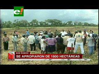 Productores denuncian que mineros tomaron predios en San Ramón