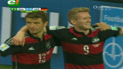 Tragedia para el dueño de casa: Alemania aplasta a Brasil por 7-1 y clasifica a la final
