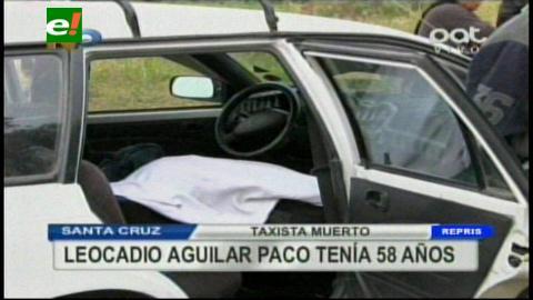 Vecinos encuentran muerto a un taxista dentro de su vehículo