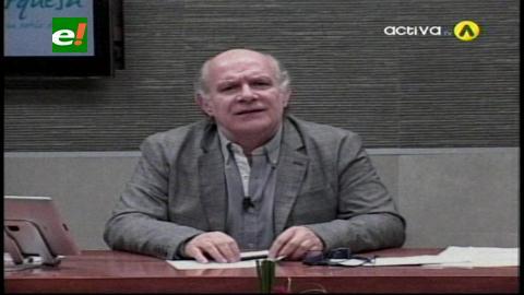 """Valverde critica la """"ignorancia política"""" del líder del MNR"""