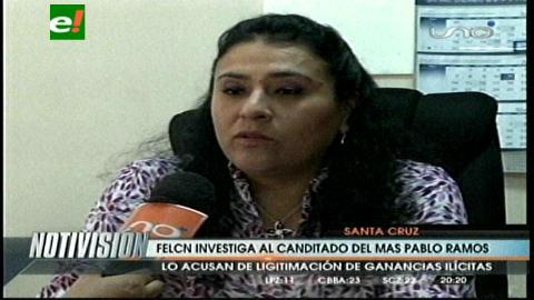 Santa Cruz: Felcn investiga a un candidato del MAS