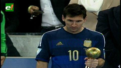 Brasil 2014: Lionel Messi es el mejor jugador del Mundial