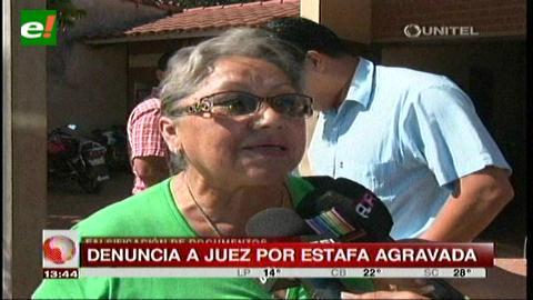 Santa Cruz: Acusan a juez por estafa agravada