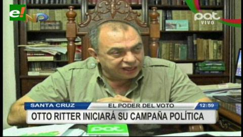 Tuto Quiroga iniciará campaña política en el Hotel Las Américas