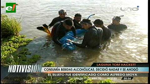 Pescador muere ahogado en laguna