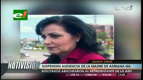 Audiencia de la mamá de Adriana Gil es suspendida por tercera vez