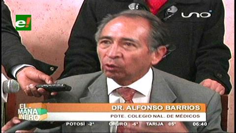 Médicos amenazan con retirarse si aprueban ley sobre negligencia