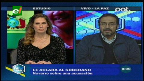 El MAS pide su renuncia: Jaime Navarro responde ante acusaciones de discriminación y lesiones graves