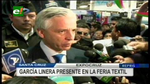 Vicepresidente inauguró la Expotextil