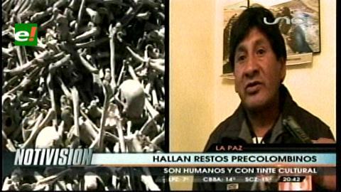 Hallan cientos de restos óseos en Potosí