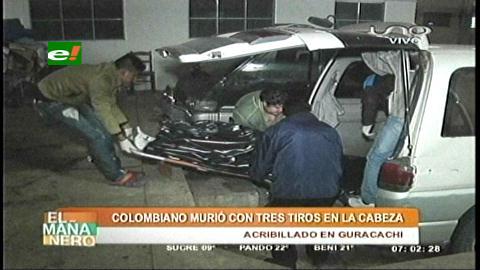 Santa Cruz: Colombiano es abatido a tiros en la Villa Primero de Mayo