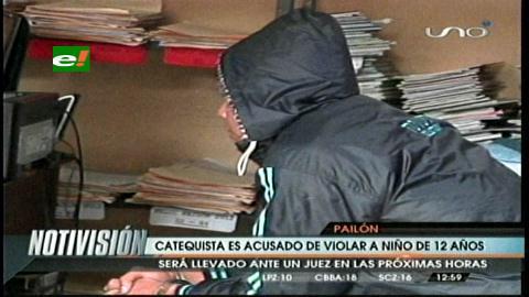 Cotoca: Detienen a un catequista acusado de violar a un menor de 12 años