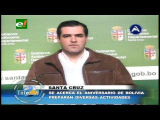 Gobernación cruceña invita a instituciones a inscribirse para el desfile del 6 de agosto