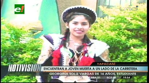 Yapacaní: asesinan a colegiala en comunidad de Puerto Abaroa