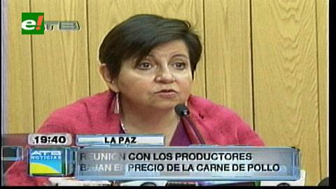 Ministra Morales: Carne de pollo bajó de precio