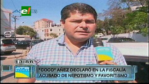 Alcalde de Cotoca prestó declaración en la fiscalía
