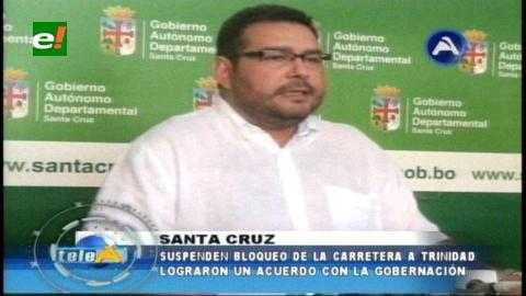 Gobernación garantiza Bs. 20.8 millones para construcción de defensivos en El Puente