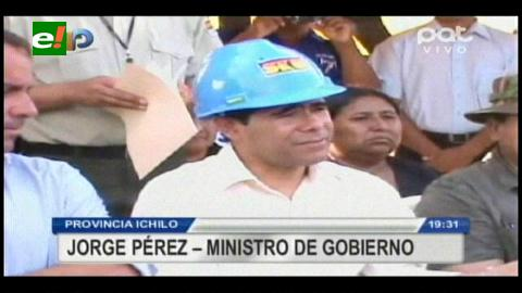 Ministro de Gobierno desmiente muerte del asesino de Sophia Calvo